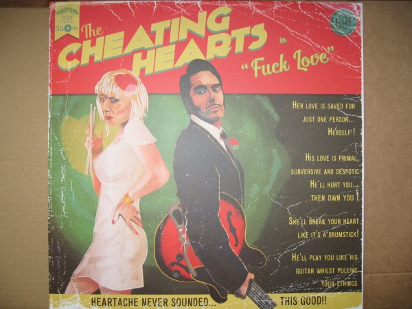 CHEATING HEARTS - Fuck Love LP