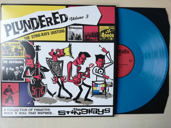 V.A. - Plundered Vol 3. The Sting Rays Unstung LP blue