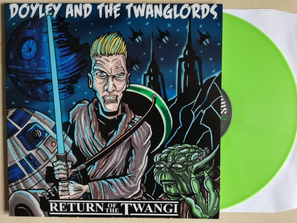 DOYLEY & THE TWANGLORDS - Return Of The Twangi LP green ltd.