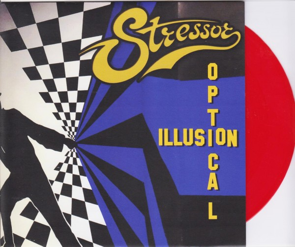 "STRESSOR - Optical Illusion 7"" RED ltd."