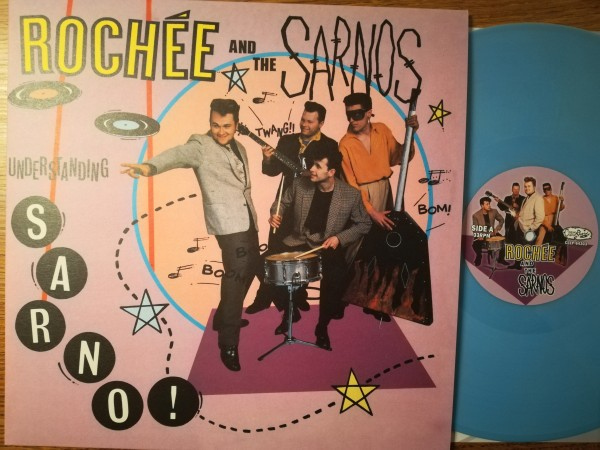ROCHEE AND THE SARNOS - Understanding Sarno LP light blue ltd.