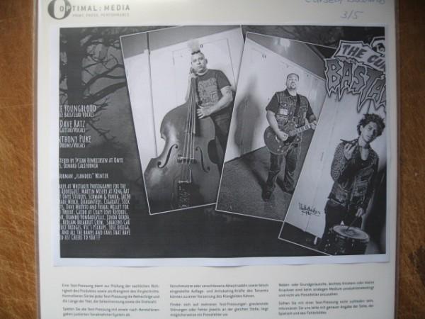 CURSED BASTARDS - Dead Head LP test pressing ltd.