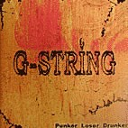 G-STRING - Punker Loser Drunker LP ltd. orange