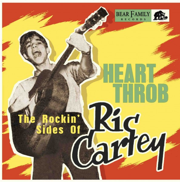 "RIC CARTEY - Heart Throb - The Rockin' Sides Of Ric Cartey 10""LP"