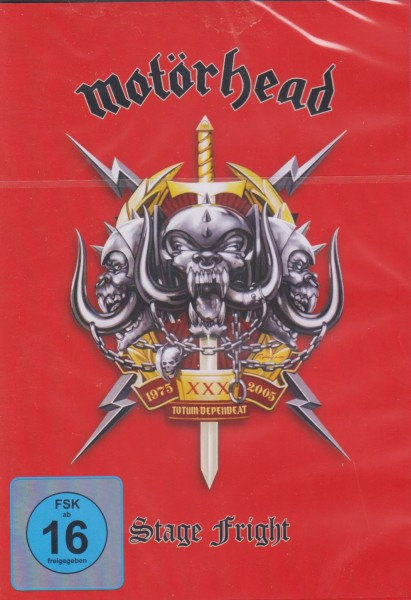 MOTÖRHEAD - Stage Fright 2DVD