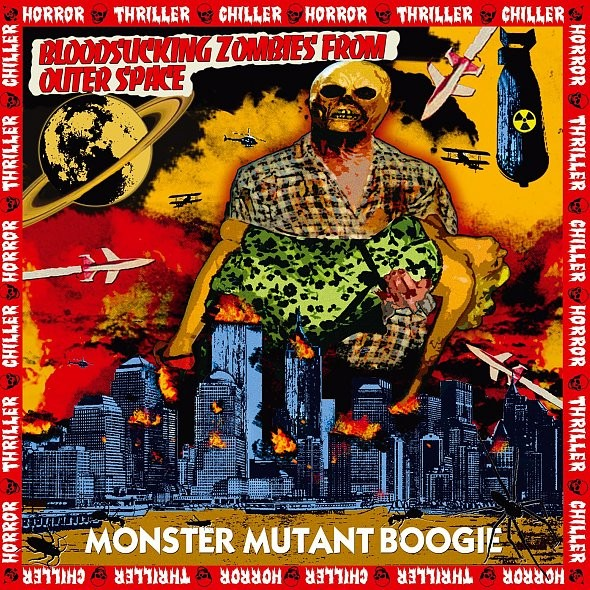 BLOODSUCKING ZOMBIES FROM OUTER SPACE - Monster Mutant...LP