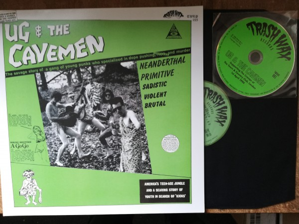 UG AND THE CAVEMEN - Same LP ltd.+ DVD