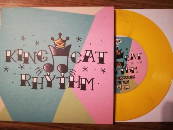 "KING CAT RHYTHM - Same 7""EP ltd. yellow"