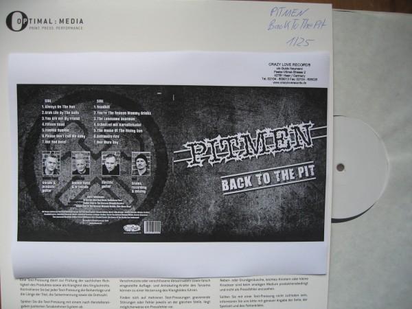 PITMEN - Back To The Pit LP test pressing ltd.