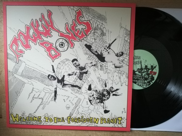 ROCKIN' BONES - Welcome To The Forbidden Planet LP ltd.
