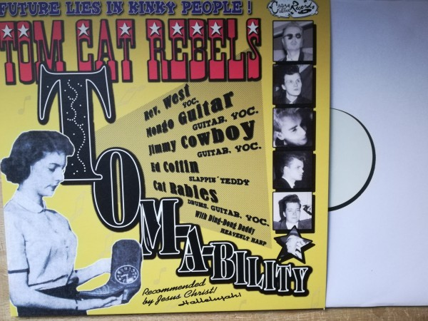 TOM CAT REBELS - Tom-A-Bility LP ltd. white label