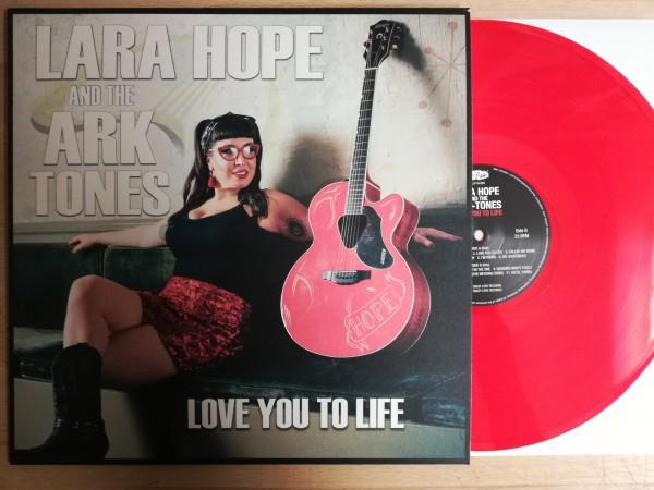LARA HOPE & THE ARKTONES - Love You To Life LP red ltd.