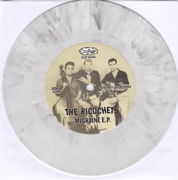 """RICOCHETS - Migraine 7""""EP white ltd."""