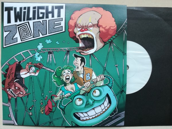 "TWILIGHT ZONE - Same 7""EP white label test pressing"