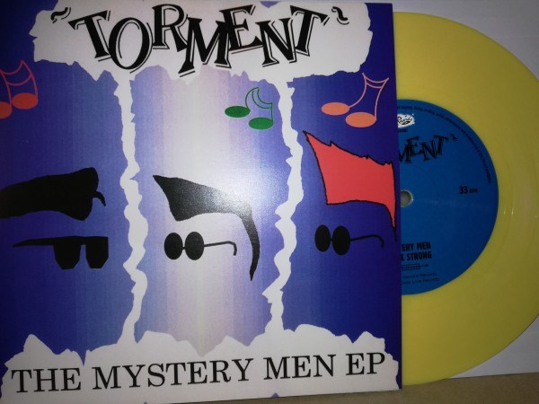 """TORMENT - The Mystery Men EP 7""""EP yellow ltd."""