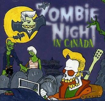 V.A.-Zombie Night In Canada Vol.1 CD