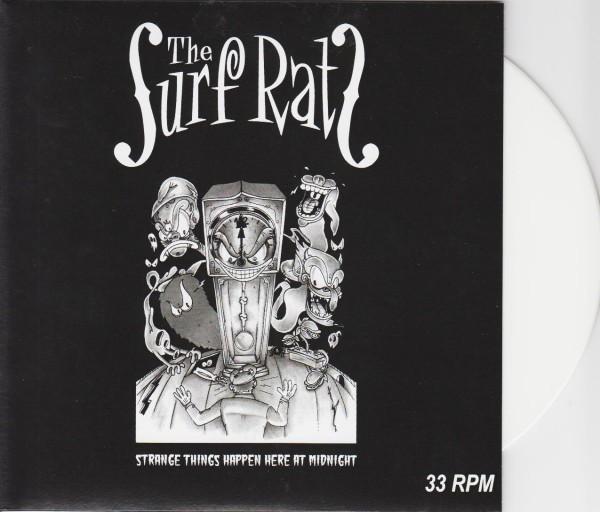 """SURF RATS - Strange Things Happen...7""""EP white ltd."""