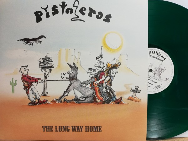 PISTOLEROS - The Long Way Home LP ltd. green