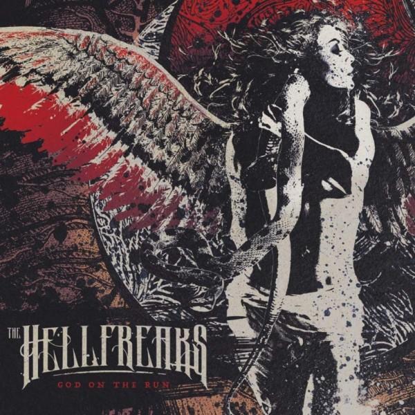 HELLFREAKS - God On The Run LP ltd.