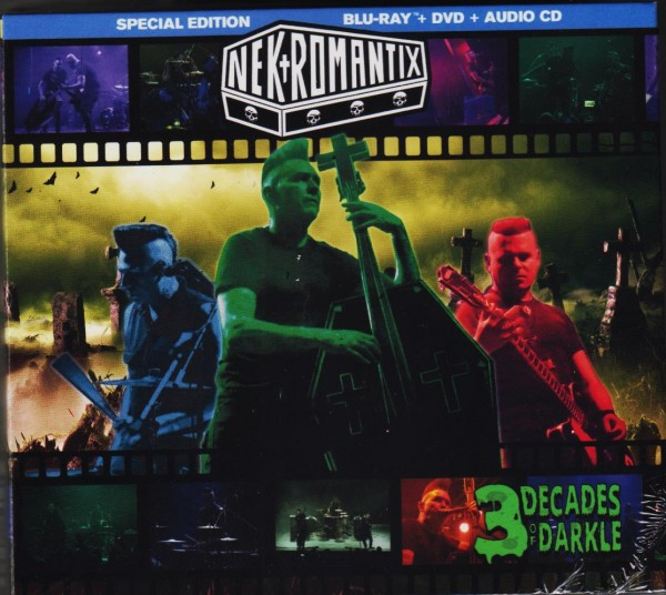 NEKROMANTIX - 3 Decades Of Darcle CD/DVD/BLU-RAY ltd.