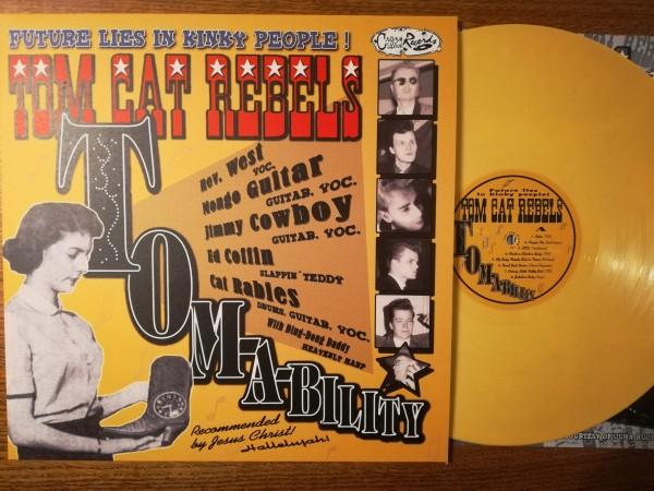 TOM CAT REBELS - Tom-A-Bility LP ltd. yellow