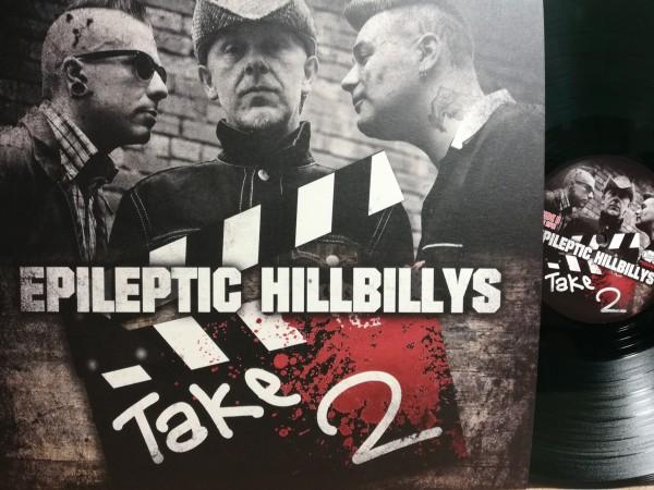 EPILEPTIC HILLBILLYS - Take Two LP green ltd.