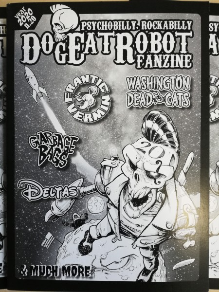 DOG EAT ROBOT Fazine #20