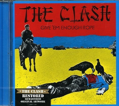 CLASH-Give `em Enough Rope CD