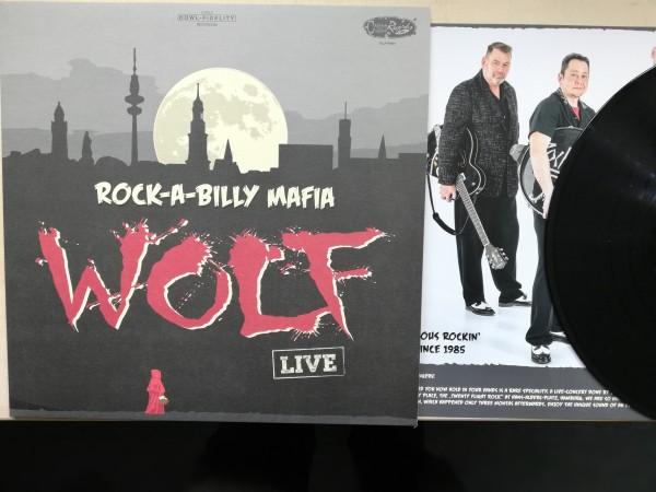ROCK-A-BILLY MAFIA - Wolf LP ltd. black