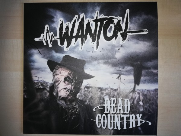WANTON - Dead Country LP red ltd.