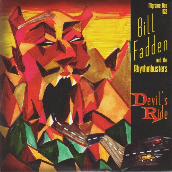 """BILL FADDEN AND THE RHYTHMBUSTERS - Devil's Ride 7""""EP"""
