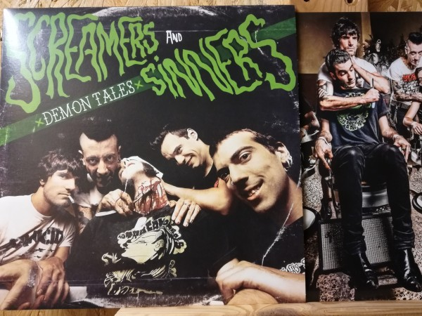 SCREAMERS AND SINNERS - Demon Tales LP ltd.