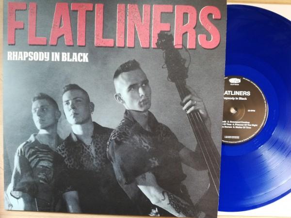 FLATLINERS - Rhapsody In Black LP blue ltd.