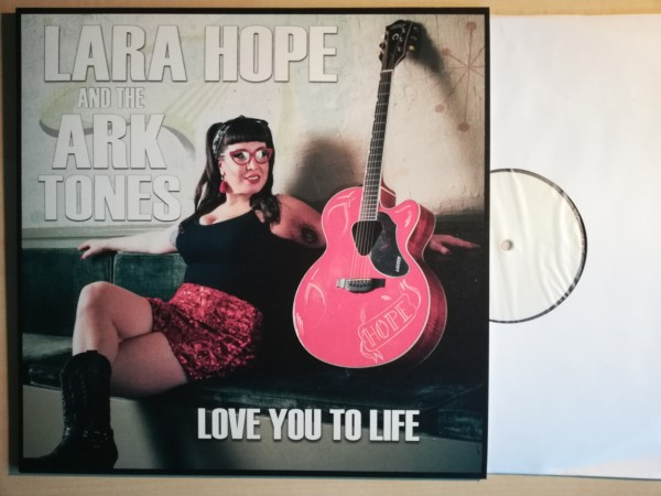 LARA HOPE & THE ARKTONES - Love You To Life LP ltd. white label