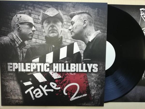EPILEPTIC HILLBILLYS - Take Two LP white label ltd.