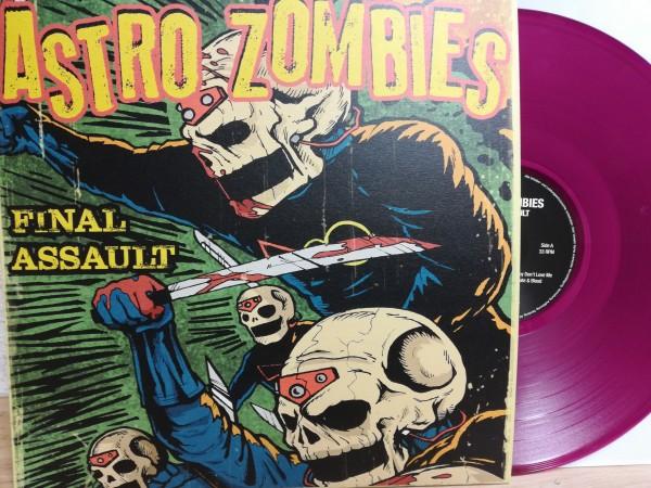 ASTRO ZOMBIES - Final Assault LP violet ltd.