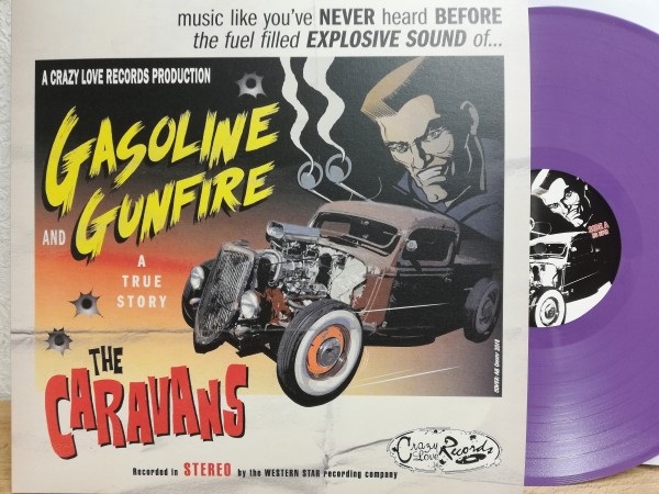 CARAVANS - Gasoline And Gunfire LP ltd. lilac