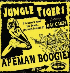"JUNGLE TIGERS - Apeman Boogie 7"""