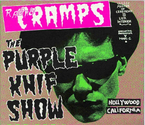 V.A. - Radio Cramps - The Purple Knif Show 2LP