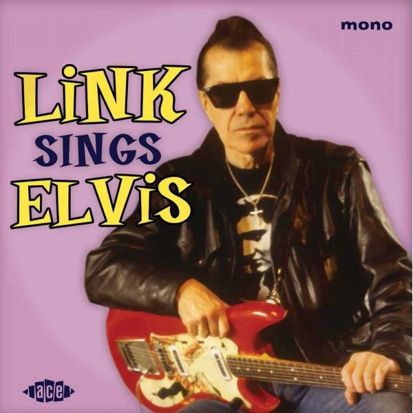 """LINK WRAY - Link Sings Elvis 10""""LP ltd."""