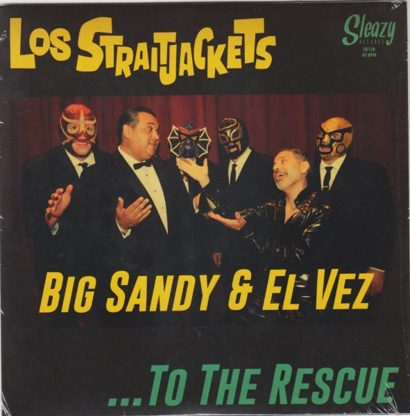 LOS STRAITJACKETS - To The Rescue 7""