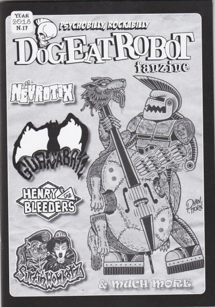 DOG EAT ROBOT Fanzine #17