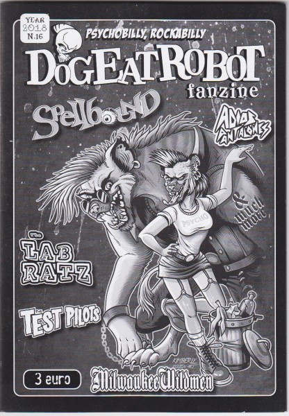 DOG EAT ROBOT Fanzine #16