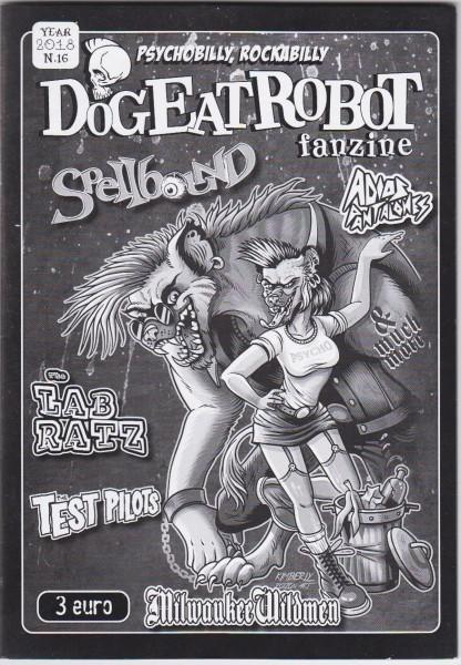 DOG EAT ROBOT Fanzine #16