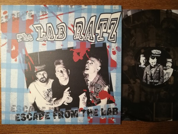 LAB RATZ - Escape From The LP ltd. clear/black