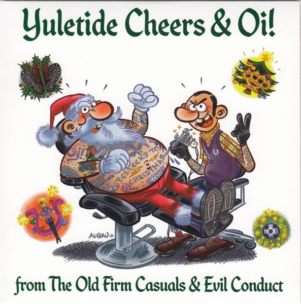 """Evil Conduct / The Old Firm Casuals - X-MAS 7"""""""