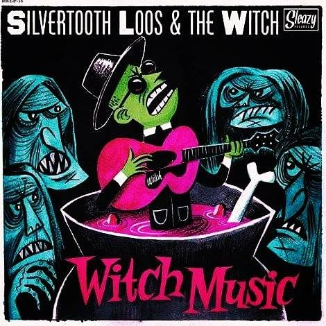 SILVERTOOTH LOOS AND THE WITCH - Witch Music LP