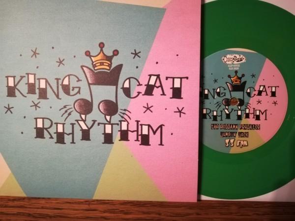 """KING CAT RHYTHM - Same 7""""EP ltd. green"""