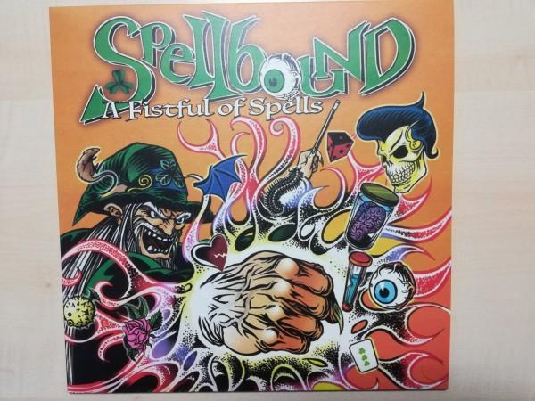 SPELLBOUND - A Fistfull Of Spells LP ltd. black