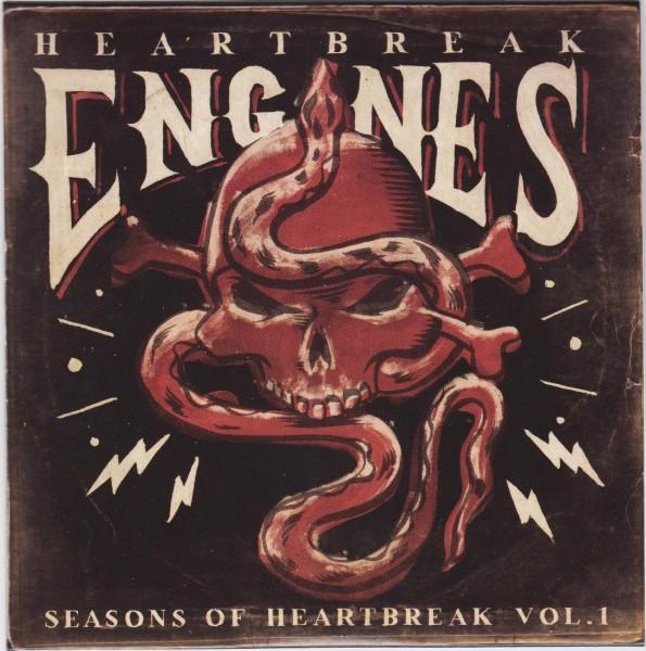 """HEARTBREAK ENGINES - Seasons Of Heartbreak Vol.1 7""""EP ltd."""